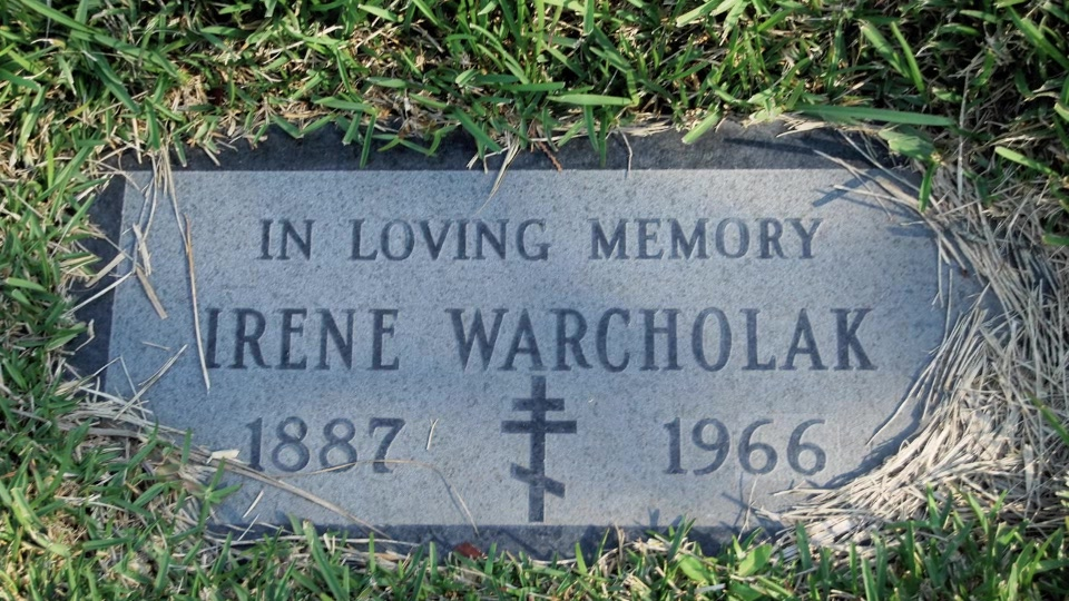 Grave/tombstone of WARCHOLAK Ирина / Irene