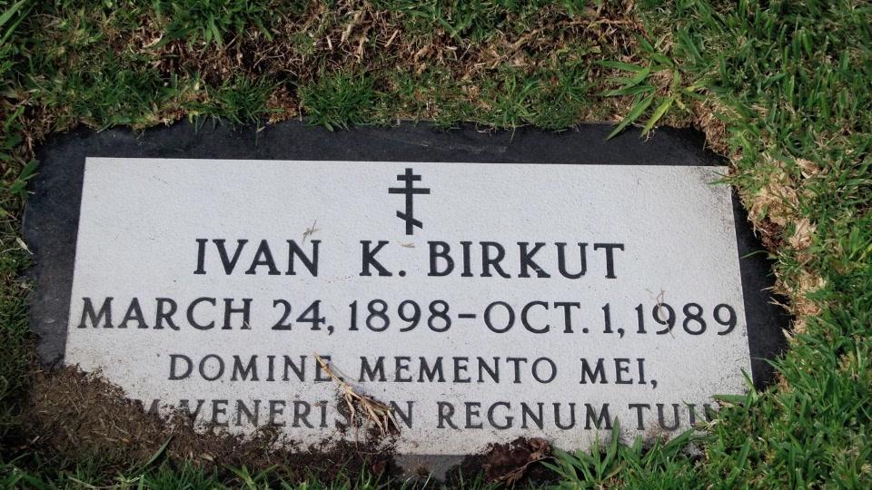 Grave/tombstone of BIRKUT Иван К. / Ivan K.