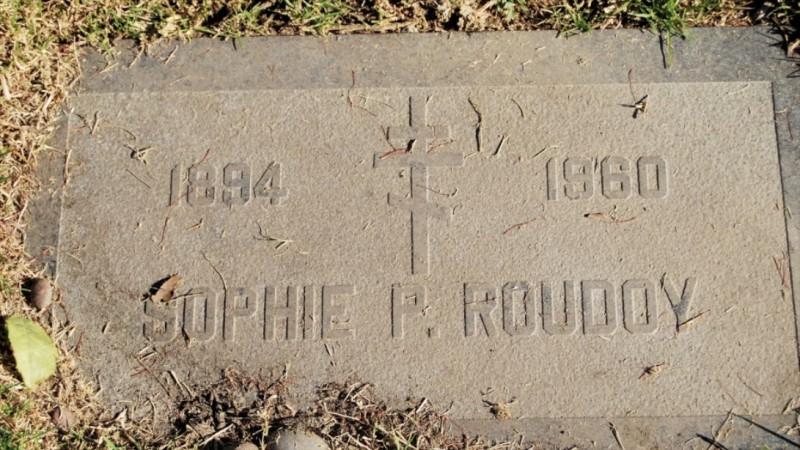 Могила/надгробие РУДОЙ Sophie