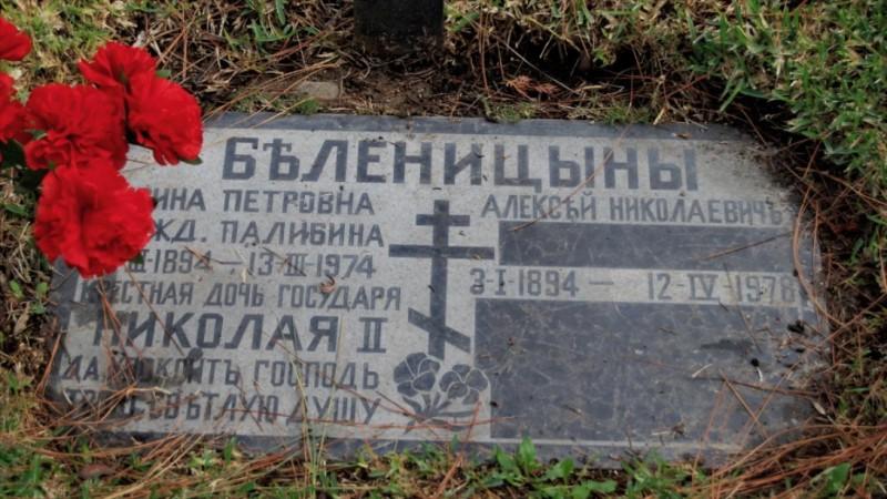 Grave/tombstone of BELENITSIN Алексей Николаевич