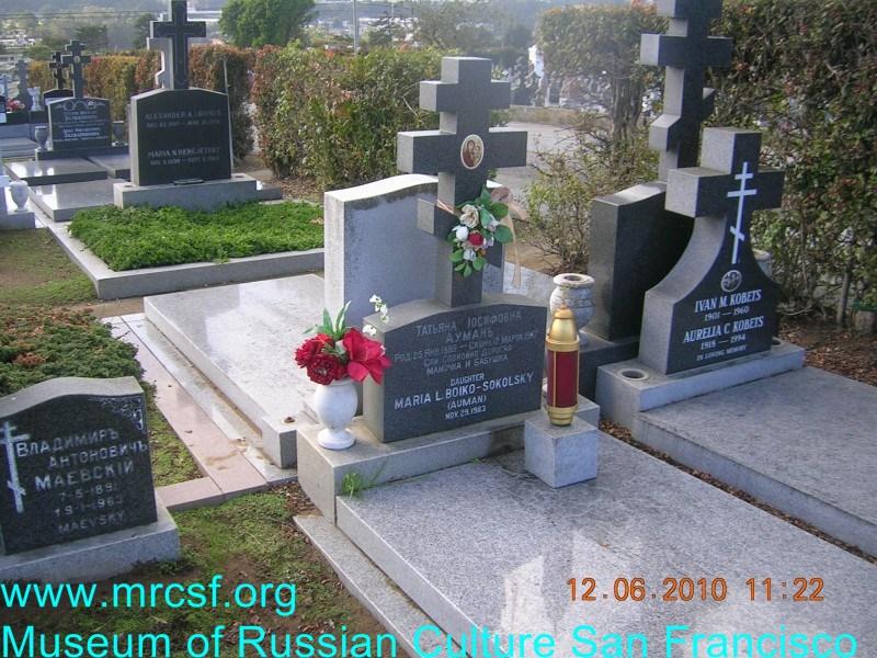 Могила/надгробие БОЙКО СОКОЛЬСКИЙ Maria L