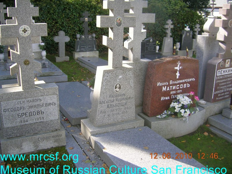 Grave/tombstone of ALBOSHSCI Алексей Иванович