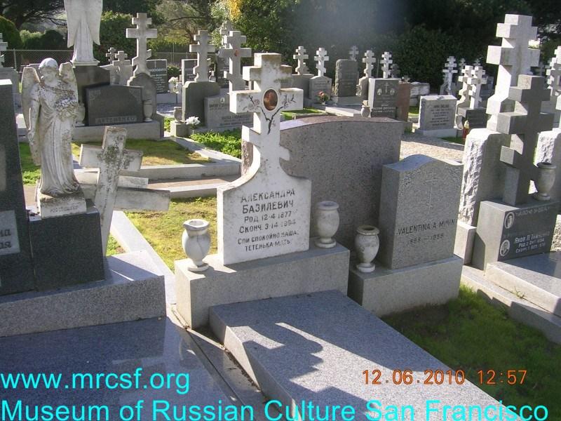 Могила/надгробие БАЗИЛЕВИЧ Александра
