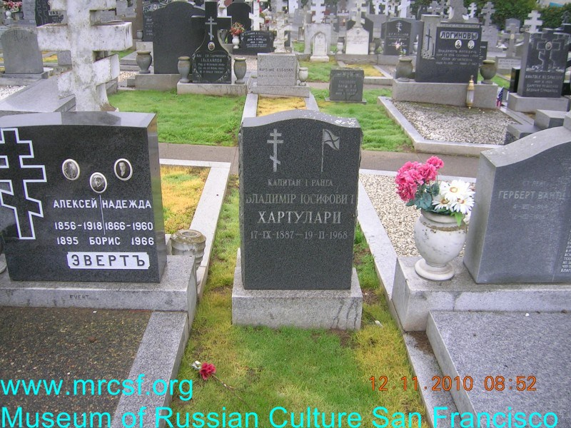 Grave/tombstone of HARTULARI Владимир Иосифович