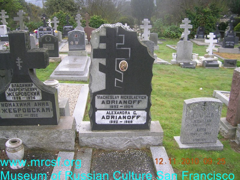 Могила/надгробие АДРИАНОВА Александра Г.
