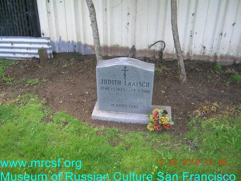 Grave/tombstone of LAATSCH Judith