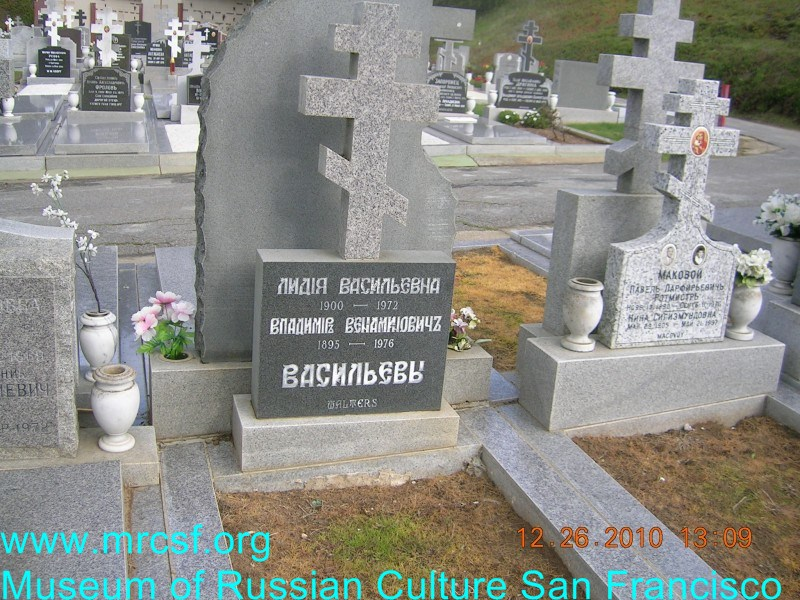 Grave/tombstone of WALTER Владимир Вениаминович