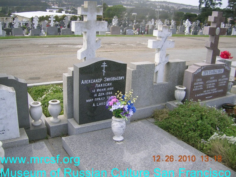 Могила/надгробие ЛАКОСИН Александр Зиновьевич