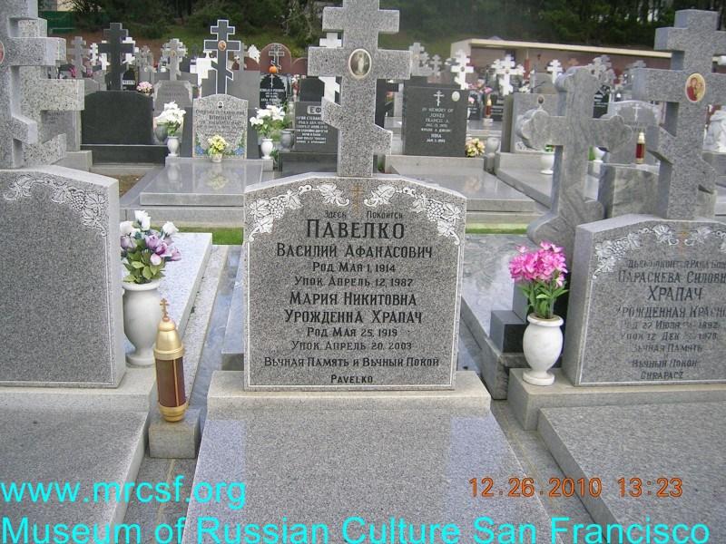 Grave/tombstone of PAVELKO Василий Афанасьевич