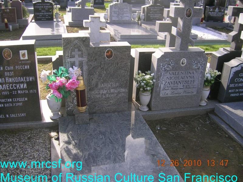 Grave/tombstone of GANIN Александра Ивановна