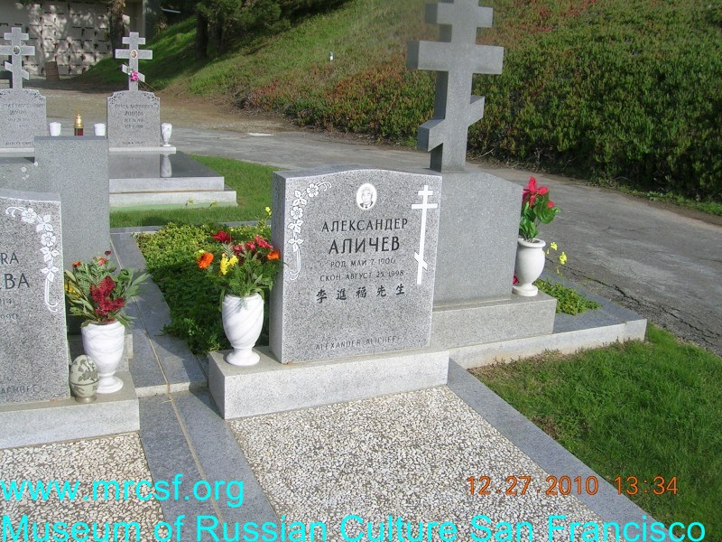 Grave/tombstone of ALICHEFF Александр