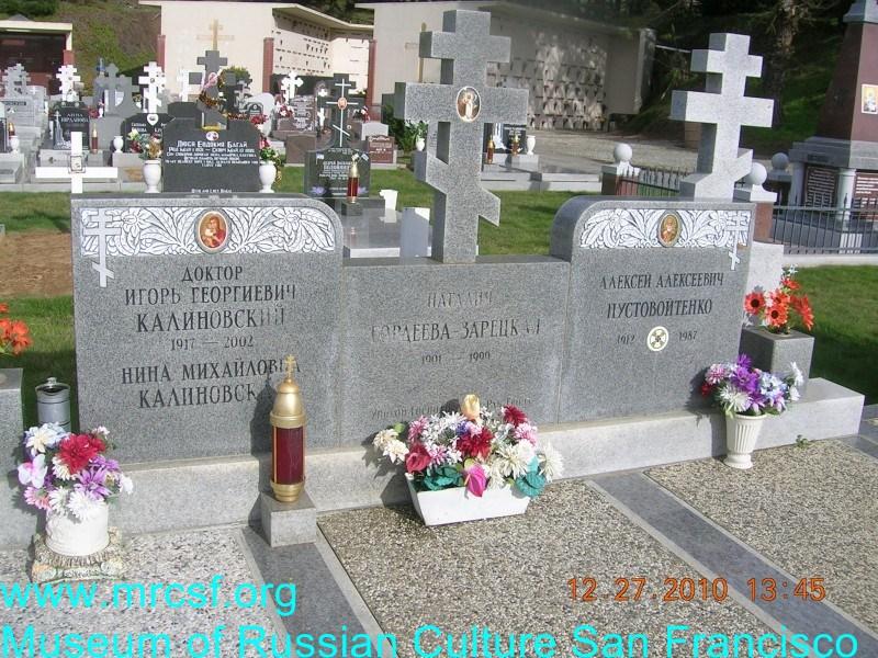 Grave/tombstone of PUSTVOITENKO Алексей Алексеевич