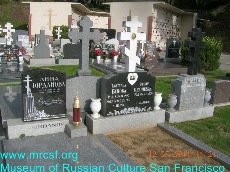 Grave/tombstone of BELOVA Светлана