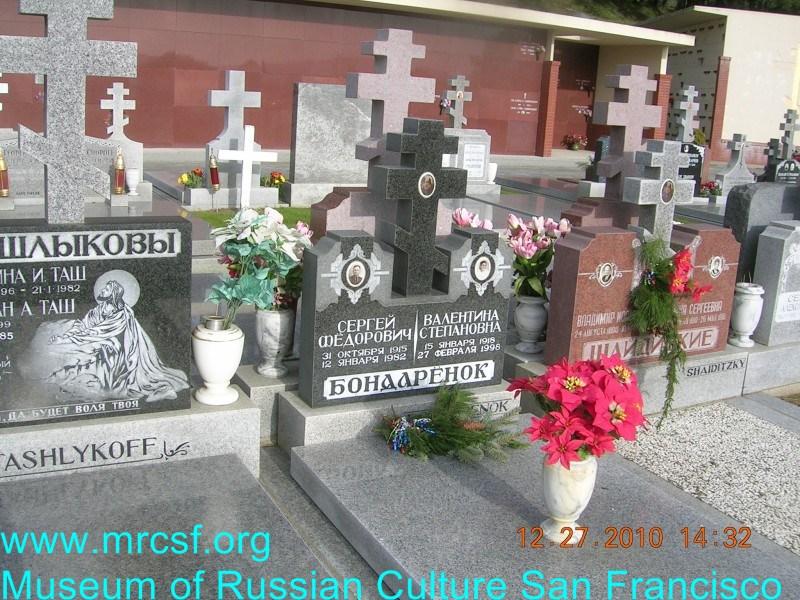 Grave/tombstone of BONDARENOK Валентина Степановна