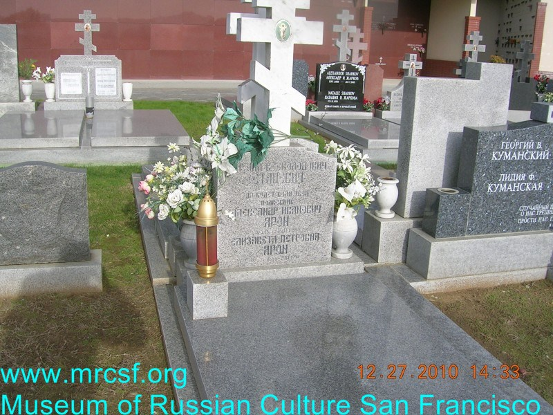 Могила/надгробие ЯРОН Александр Иванович