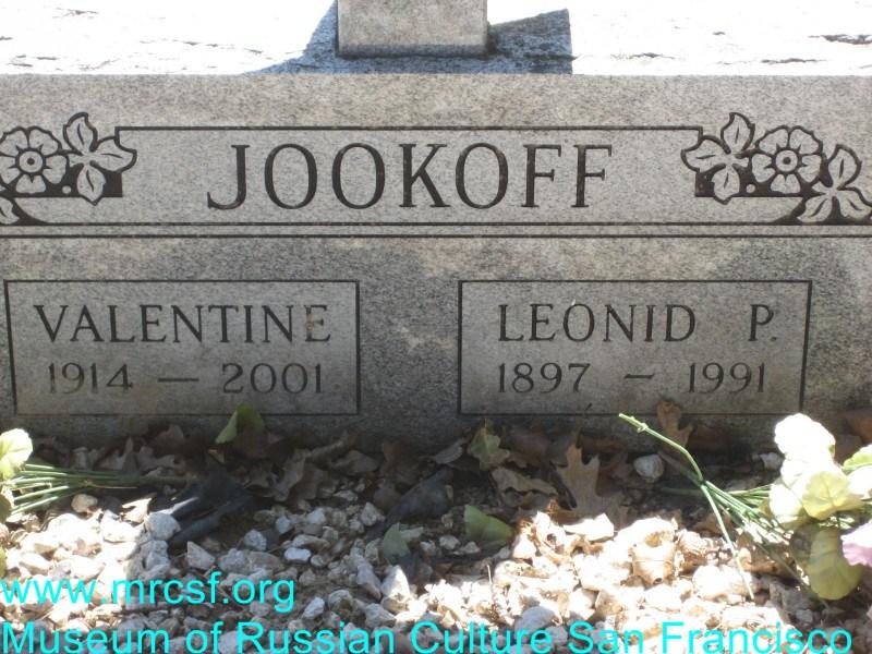Могила/надгробие ЖУКОВ Valentine