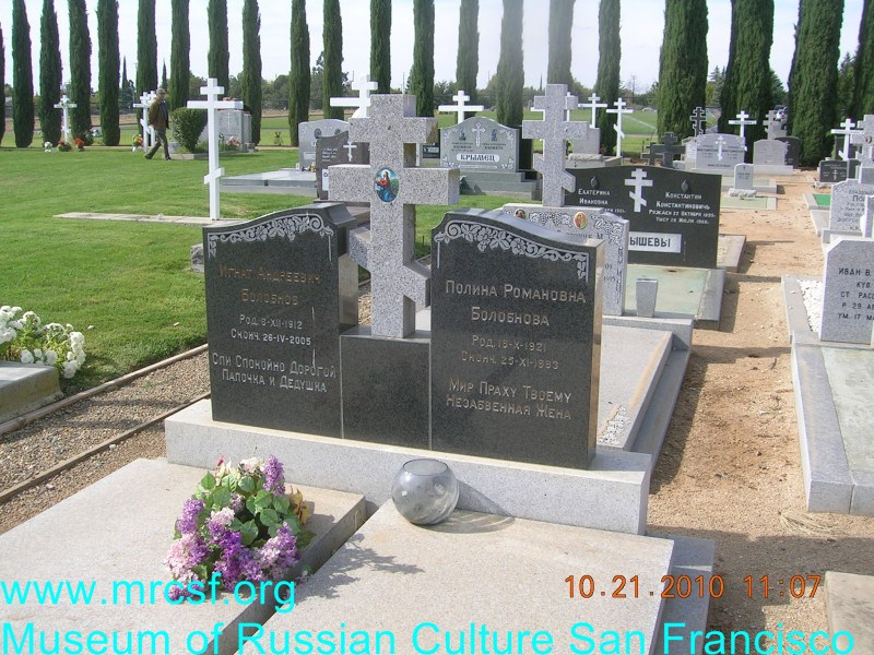 Могила/надгробие БОЛОБНОВ Игнат Андреевич