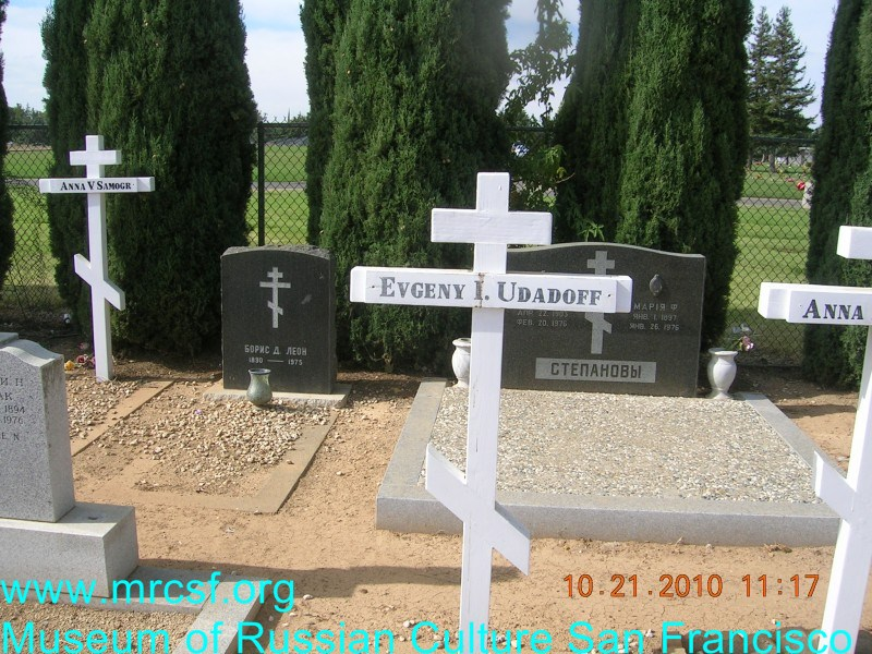 Могила/надгробие УДАТОВ Evgeny I.
