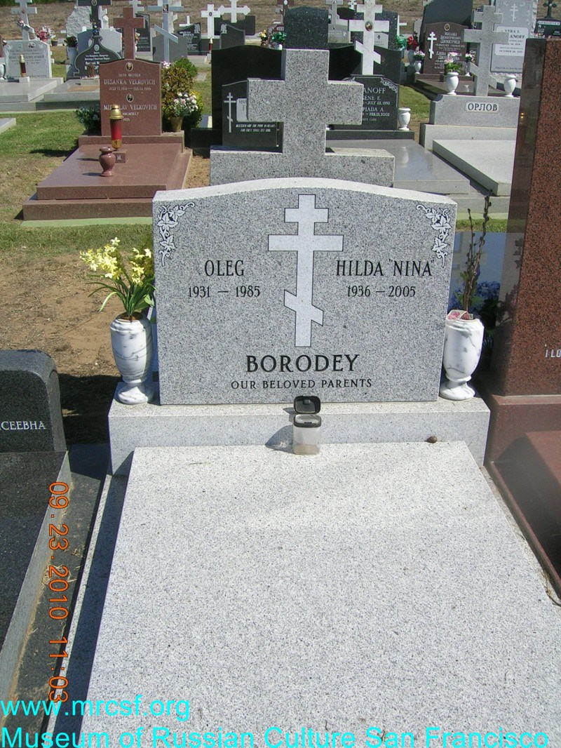 Grave/tombstone of BORODEY Oleg