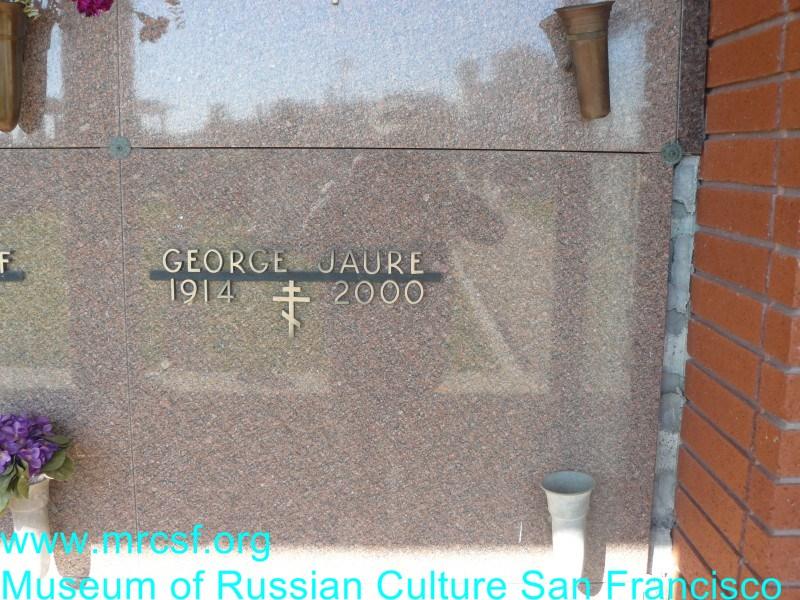 Grave/tombstone of JAURE George