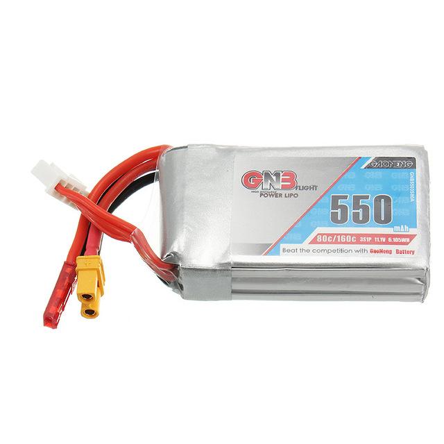 GNB-11-1-V-550-mAh-80-160C-3S