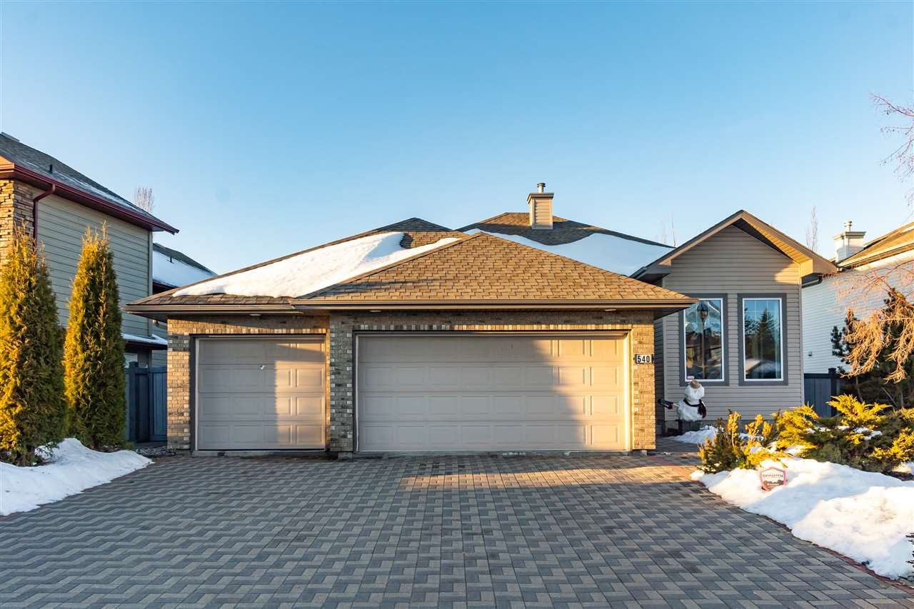FEATURED LISTING: 540 BYRNE Crescent Edmonton