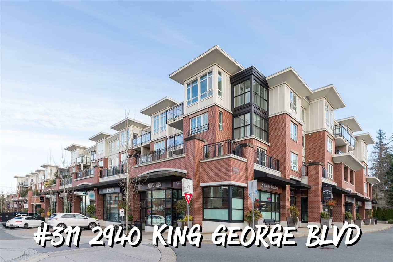 FEATURED LISTING: 311 2940 KING GEORGE Boulevard Surrey