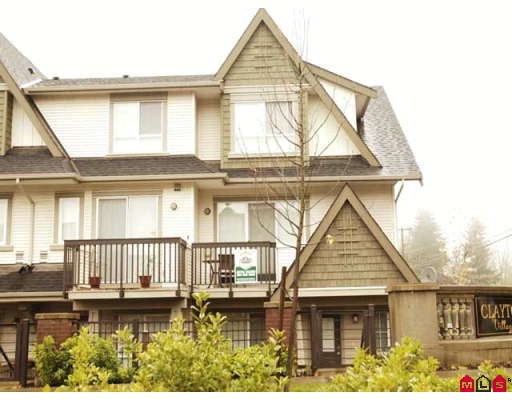 "Main Photo: 13 7155 189TH Street in Surrey: Clayton Townhouse for sale in ""BACARA"" (Cloverdale)  : MLS®# F2727422"
