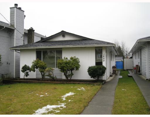 Main Photo: 1844 PRAIRIE Avenue in Port_Coquitlam: Glenwood PQ House for sale (Port Coquitlam)  : MLS® # V688970