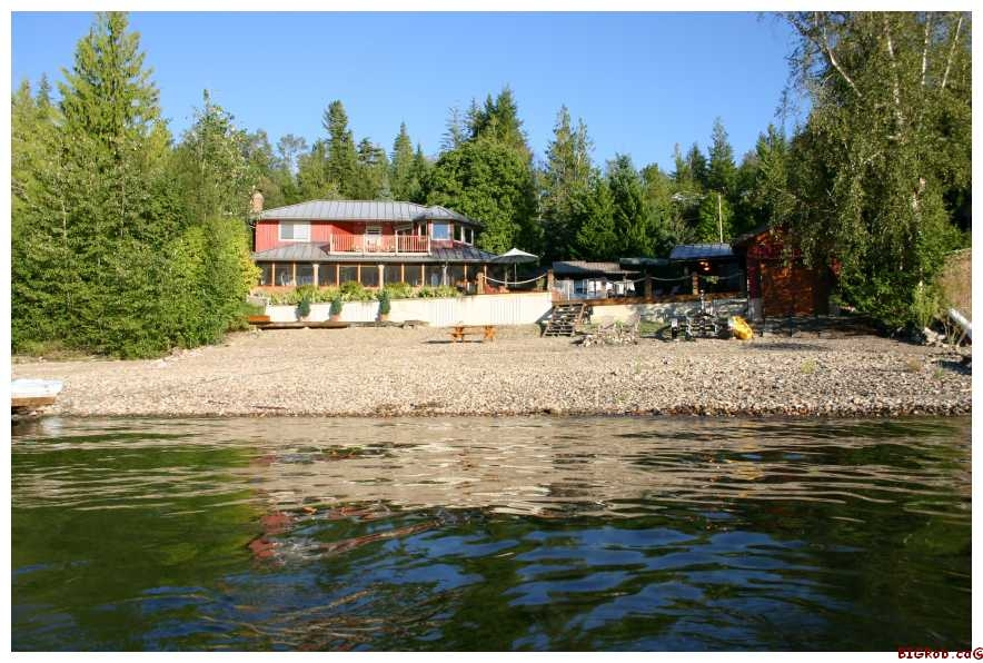 Main Photo: 6017 Eagle Bay Road in Eagle Bay: Waterfront Residential Detached for sale : MLS® # SOLD