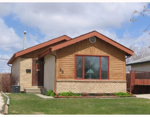 Main Photo: 35 SIMS Crescent in WINNIPEG: Transcona Residential for sale (North East Winnipeg)  : MLS® # 2807895