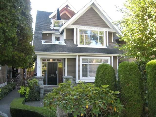 Main Photo: 2036 Whyte Avenue in Vancouver West, Kitsilano: Kitsilano House for sale (Vancouver West)  : MLS® # V792138
