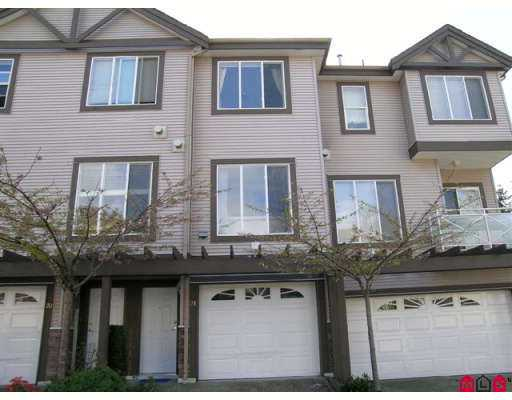 "Main Photo: 21 15133 29A Avenue in White_Rock: King George Corridor Townhouse for sale in ""Stonewoods"" (South Surrey White Rock)  : MLS®# F2709280"