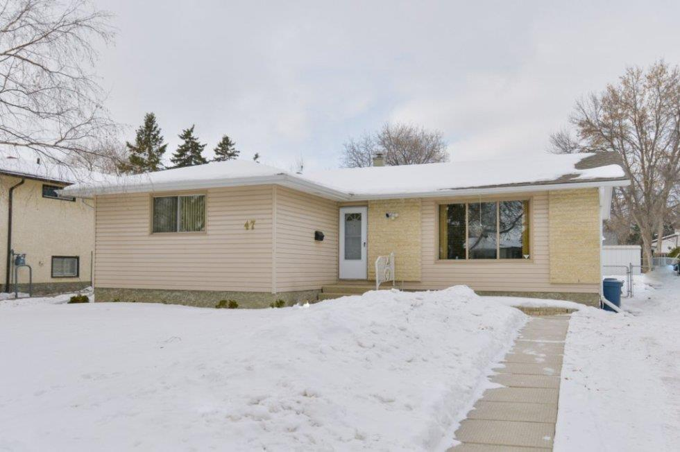 FEATURED LISTING: 47 Newcastle Road Winnipeg