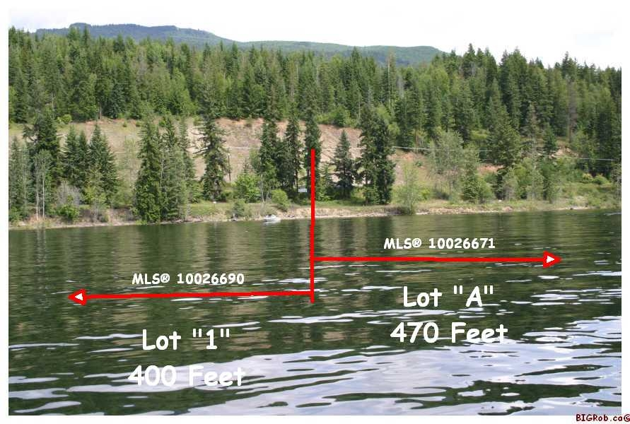 Main Photo: Lot 1 or Lot A Squilax-Anglemont Rd in Magna Bay: Waterfront Land Only for sale (Shuswap Lake)  : MLS® # 10026690 or 10026671