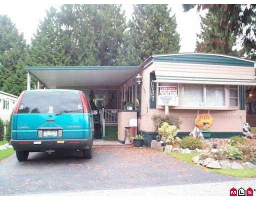 "Main Photo: 177 7790 KING GEORGE Highway in Surrey: East Newton Manufactured Home for sale in ""Crispen Bays Mobile Home Park"" : MLS®# F2812388"