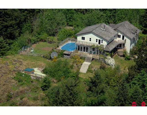 Main Photo: 44388 MALCOLM Road in Mission: Lake Errock House for sale : MLS® # F2805856