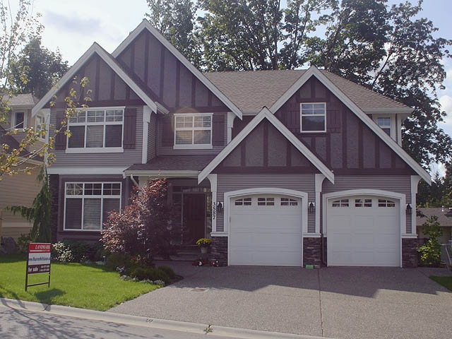 "Main Photo: 3587 Creekstone Drive in Abbotsford: Abbotsford East House for sale in ""Creekstone on the Park"""