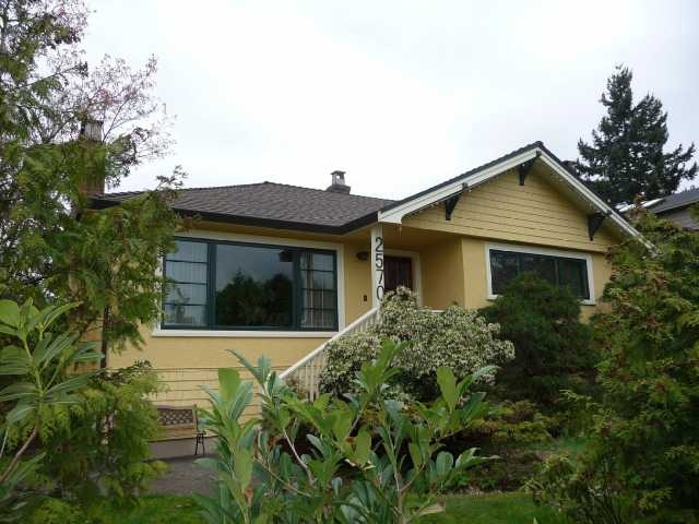 Main Photo: 2570 W. King Eward in Vancouver West, Quilchena: Quilchena House for sale (Vancouver West)  : MLS®# V819713