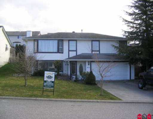 Main Photo: 3294 PURCELL AV in Abbotsford: Abbotsford East House for sale : MLS® # F2604034