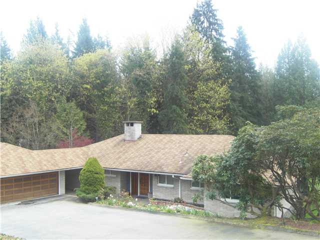 Main Photo: 620 SOUTHBOROUGH Drive in West Vancouver: British Properties House for sale : MLS® # V822211