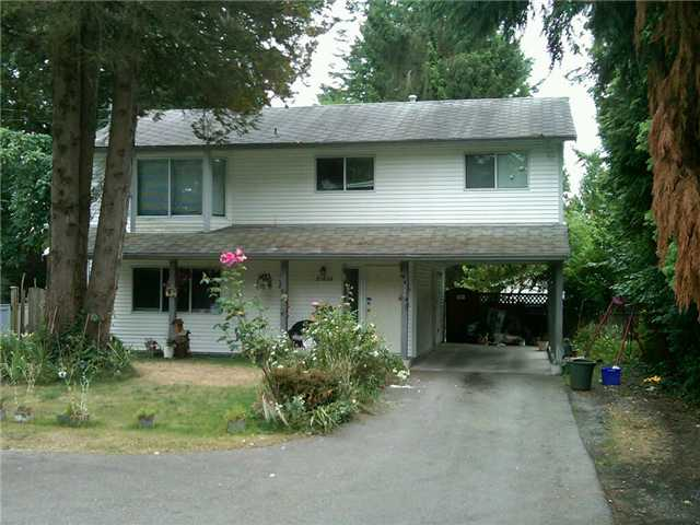 Main Photo: 21808 LOUGHEED Highway in Maple Ridge: West Central House for sale : MLS®# V844631
