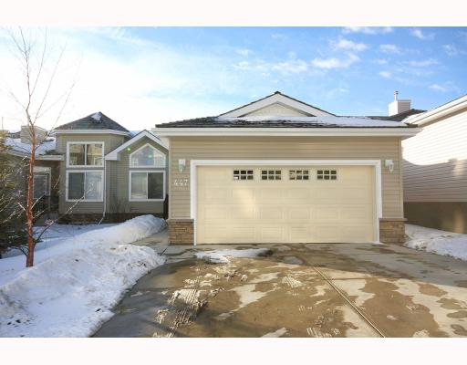 Main Photo: 447 ROCKY VISTA Gardens NW in CALGARY: Rocky Ridge Ranch Townhouse for sale (Calgary)  : MLS® # C3368573
