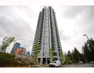 "Main Photo: 1810 1178 HEFFLEY Crescent in Coquitlam: North Coquitlam Condo for sale in ""Obelisk"" : MLS® # V764893"