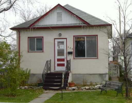 Main Photo:  in WINNIPEG: St James Single Family Detached for sale (West Winnipeg)  : MLS® # 2618443