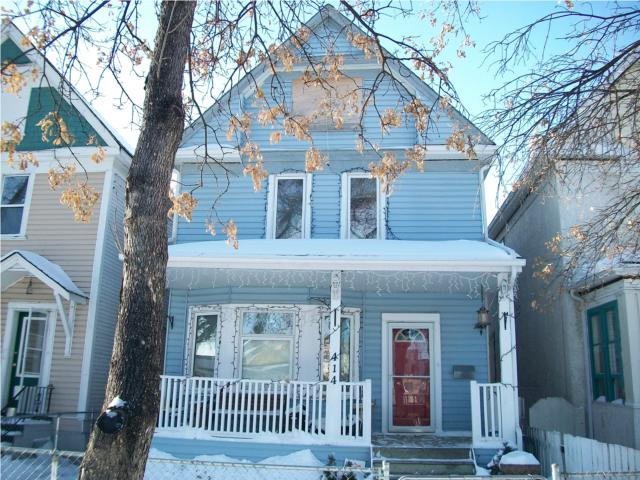 Main Photo: 414 Victor Street in WINNIPEG: West End / Wolseley Residential for sale (West Winnipeg)  : MLS® # 1002573