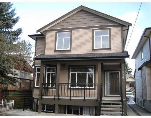 Main Photo: 3360 WELLINGTON Street in Port_Coquitlam: Glenwood PQ House for sale (Port Coquitlam)  : MLS® # V782330