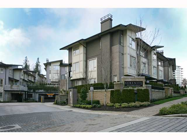 "Main Photo: 66 9229 UNIVERSITY Crescent in Burnaby: Simon Fraser Univer. Townhouse for sale in ""SERENITY"" (Burnaby North)  : MLS® # V815319"