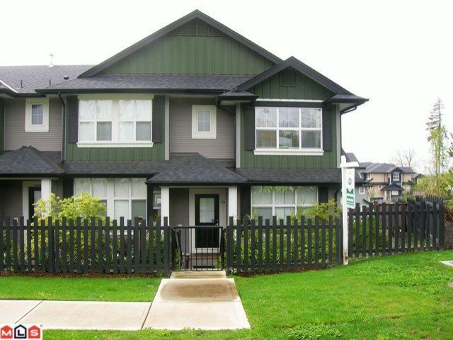 "Main Photo: 19 18199 70TH Avenue in Surrey: Cloverdale BC Townhouse for sale in ""AUGUSTA AT PROVINCETON"" (Cloverdale)  : MLS®# F1011393"
