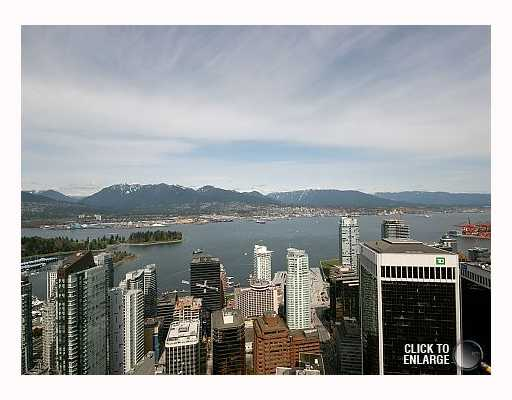 "Main Photo: 5303 1128 W GEORGIA Street in Vancouver: West End VW Condo for sale in ""SHANGRI-LA"" (Vancouver West)  : MLS® # V757187"